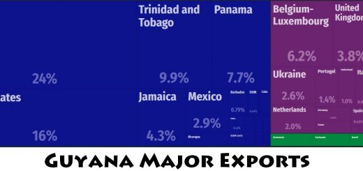 Guyana Major Exports
