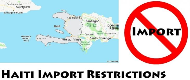 Haiti Import Regulations