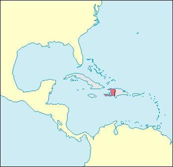 Haiti Location Map