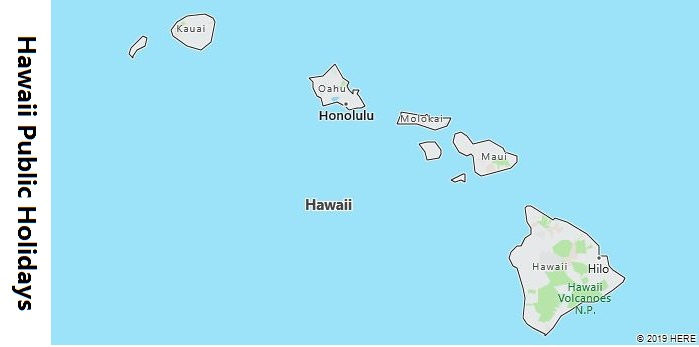 Hawaii Public Holidays