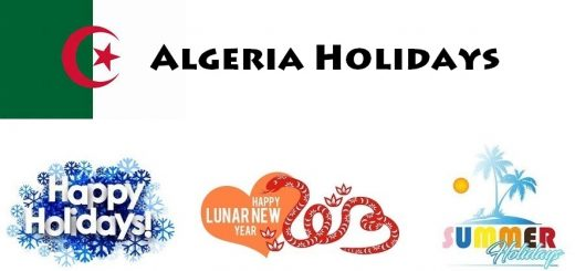 Holidays in Algeria