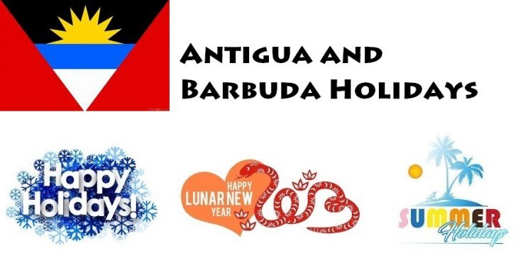 Holidays in Antigua and Barbuda