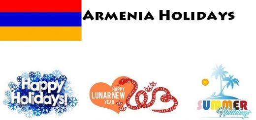 Holidays in Armenia