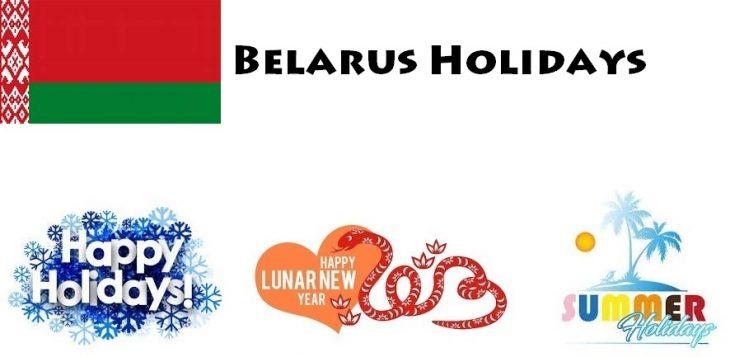 Holidays in Belarus