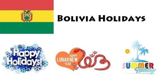 Holidays in Bolivia