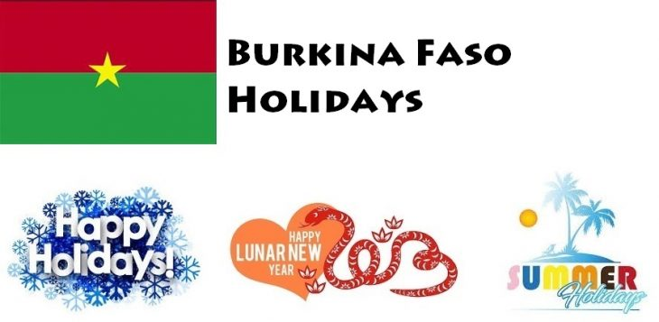 Holidays in Burkina Faso