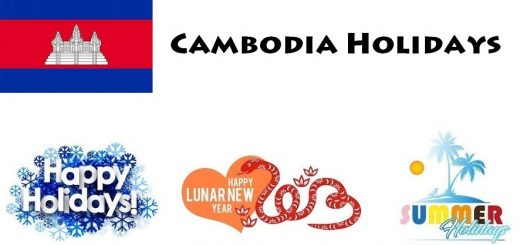 Holidays in Cambodia