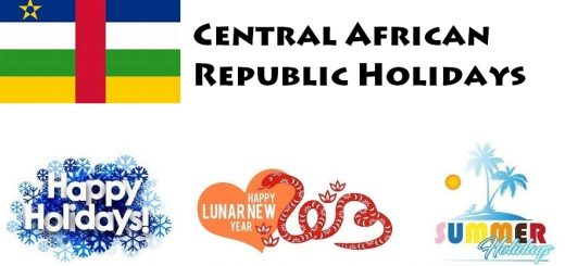 Holidays in Central African Republic