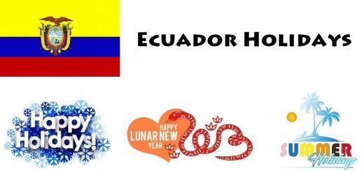 Holidays in Ecuador