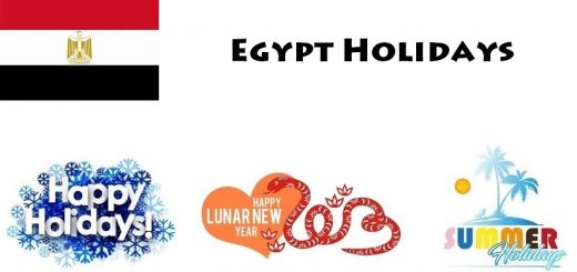 Holidays in Egypt