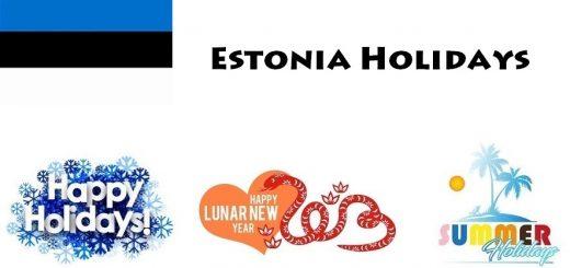 Holidays in Estonia