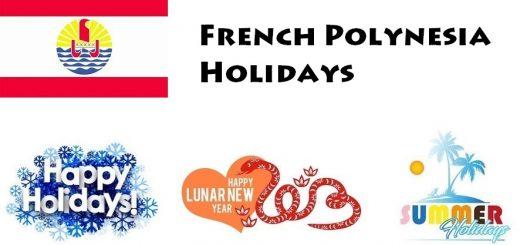 Holidays in French Polynesia