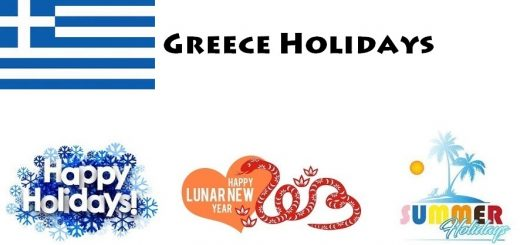Holidays in Greece