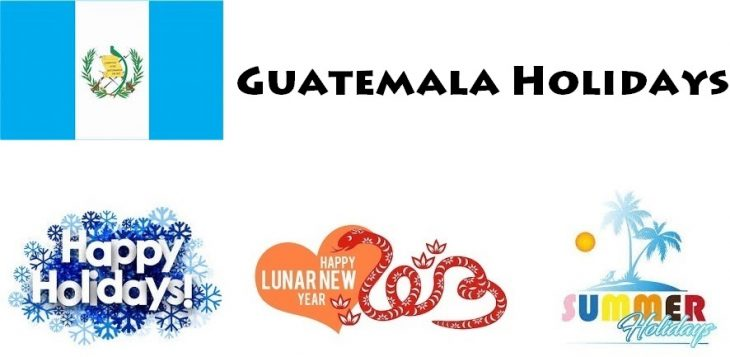 Holidays in Guatemala