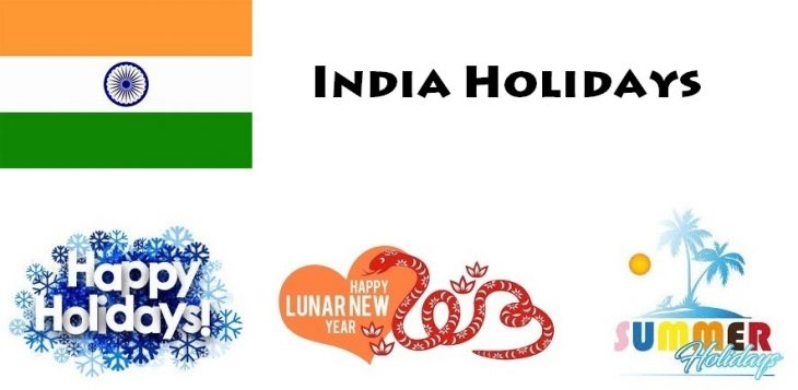 Holidays in India