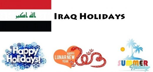 Holidays in Iraq