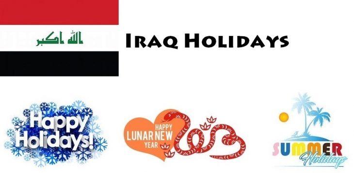 Holidays in Iraq