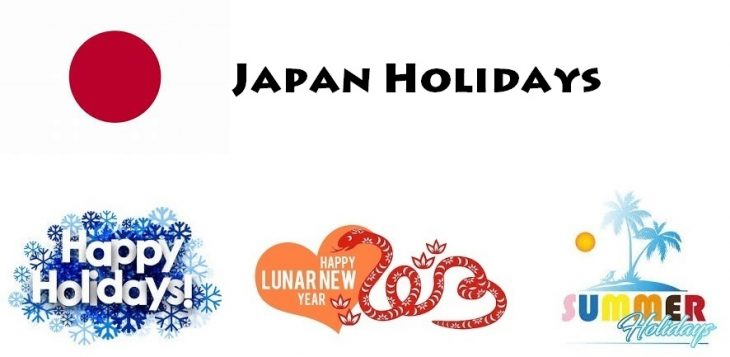 Holidays in Japan