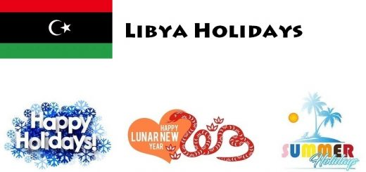 Holidays in Libya