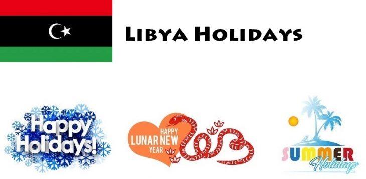 Holidays in Libya