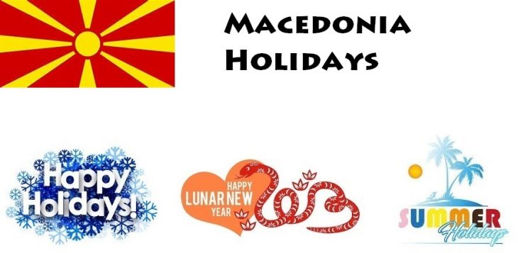 Holidays in Macedonia