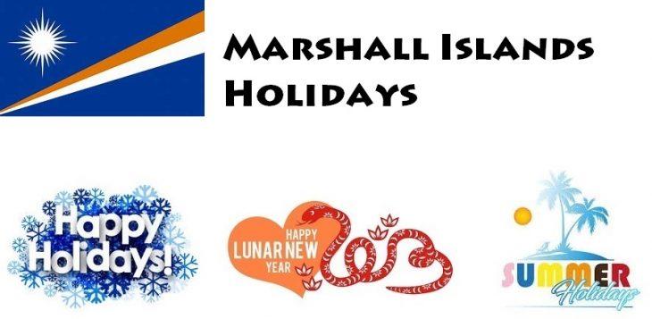 Holidays in Marshall Islands