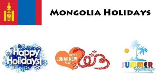 Holidays in Mongolia