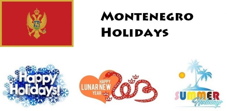Holidays in Montenegro