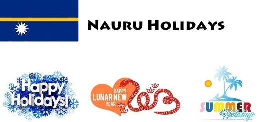 Holidays in Nauru