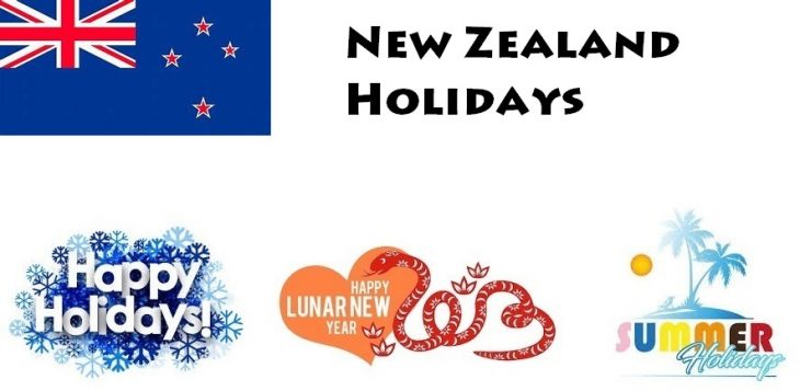 Holidays in New Zealand