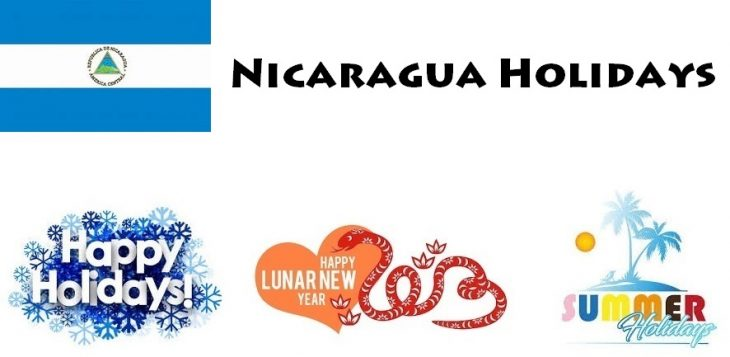 Holidays in Nicaragua