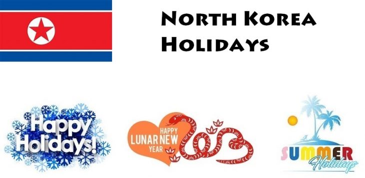 Holidays in North Korea