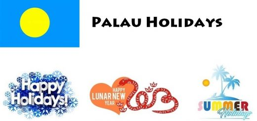 Holidays in Palau