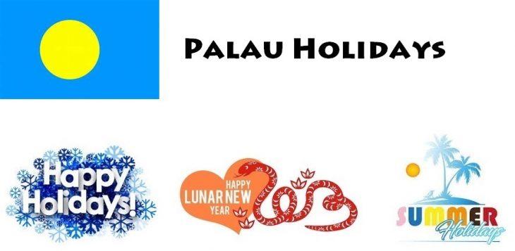 Holidays in Palau