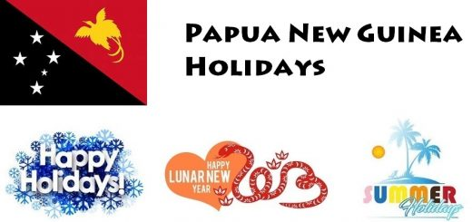Holidays in Papua New Guinea