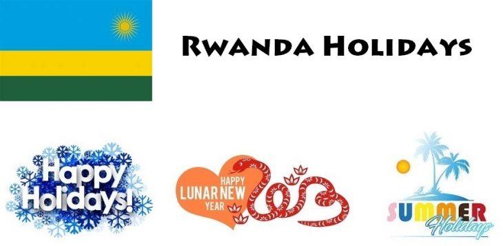 Holidays in Rwanda
