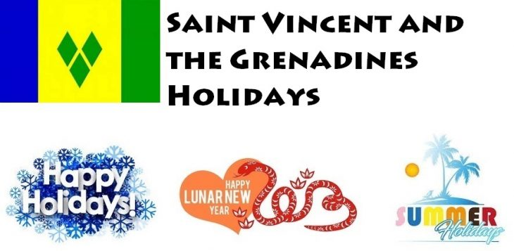 Holidays in Saint Vincent and the Grenadines