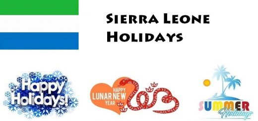 Holidays in Sierra Leone