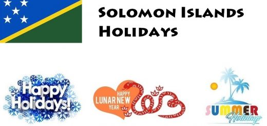 Holidays in Solomon Islands