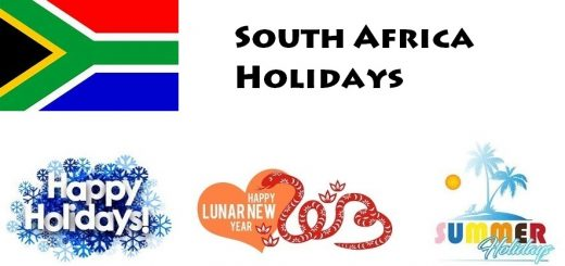 Holidays in South Africa