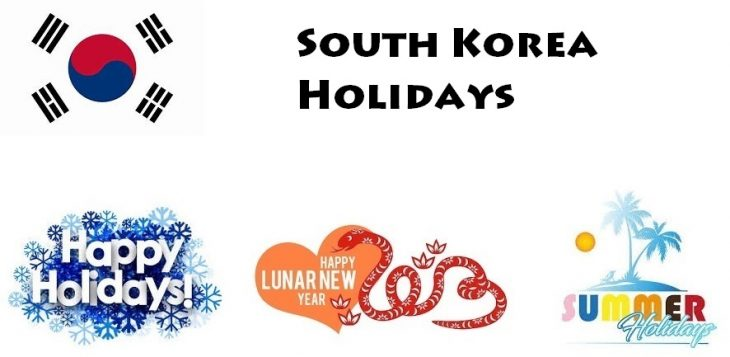 Holidays in South Korea