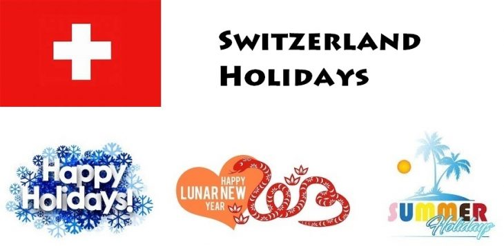 Holidays in Switzerland