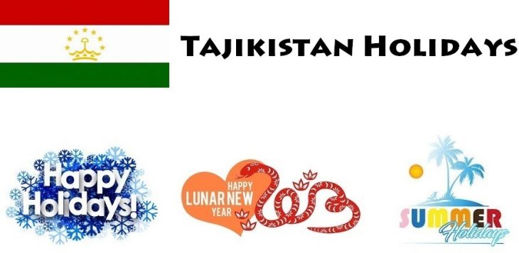 Holidays in Tajikistan