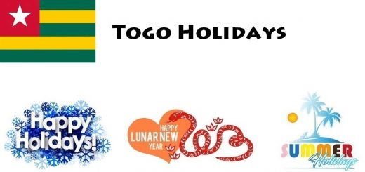 Holidays in Togo