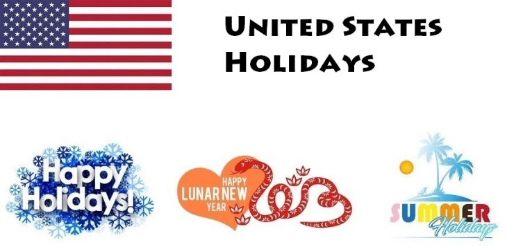 Holidays in United States