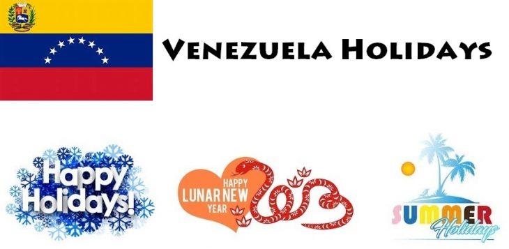 Holidays in Venezuela