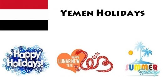 Holidays in Yemen