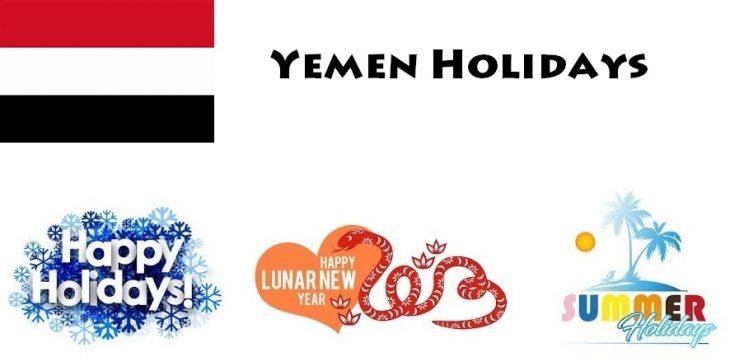Holidays in Yemen
