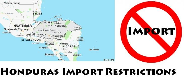 Honduras Import Regulations