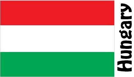 Hungary Country Flag